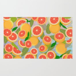Grapefruit Song Rug