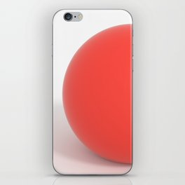 SuperClean - Red iPhone Skin
