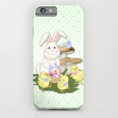 White Rabbit and Easter Friends Slim Case iPhone 6s