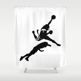 #TheJumpmanSeries, Reggie Bush Shower Curtain