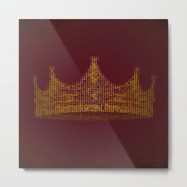 king for a day Metal Print