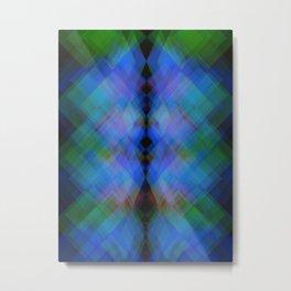 Cymatic flash Metal Print