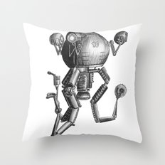 Mr Gutsy Throw Pillow