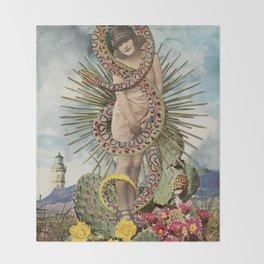 Desert Flower Throw Blanket