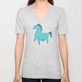 Best Hoof Forward (Unicorn) Unisex V-Neck