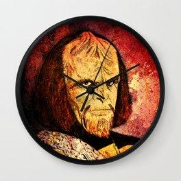 The Klingon  Wall Clock