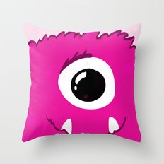 Monster Print - I Throw Pillow