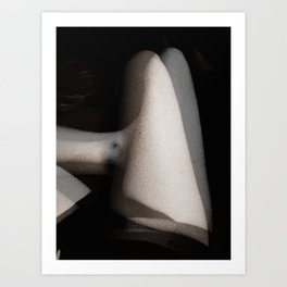 Ghostly Bodies Art Print