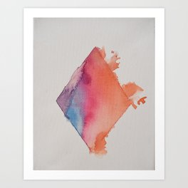 Tearing Walls Down Art Print