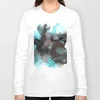 pool Long Sleeve T-shirts featuring Pool by Amie Amyotte
