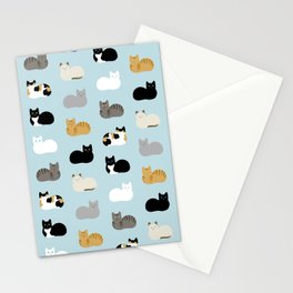 Cat Loaf Print Stationery Cards