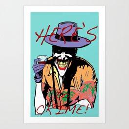 killing joker quote Art Print