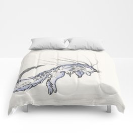 Plunge the Waterfall Fox. Comforters