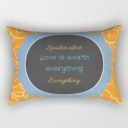 Everything, Everything by Nicola Yoon Rectangular Pillow
