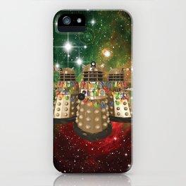 Holiday Daleks iPhone Case