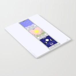 Trio of Tarot Notebook