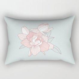 GARDENIA - Mint Rectangular Pillow