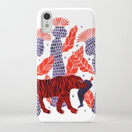 Tiger story in the jungle iPhone Case