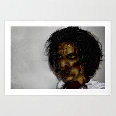 Zombie!!  Art Print
