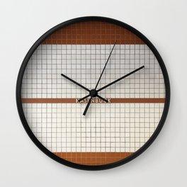 Nuremberg U-Bahn Memories - Hasenbuck Wall Clock
