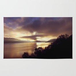 Loch Ness Sunset Rug