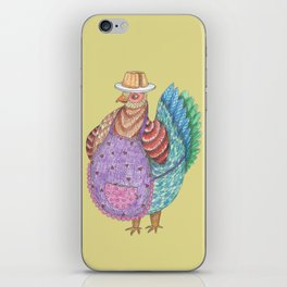 Odile, La Poule iPhone Skin