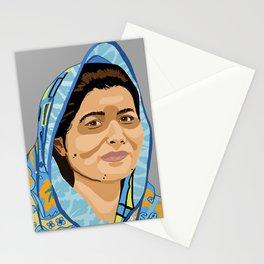 Malala Portrait Stationery Cards