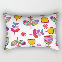 Floral pattern #5E Rectangular Pillow