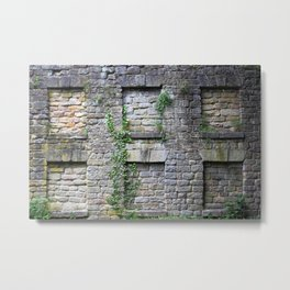 Wall Of Privacy Metal Print