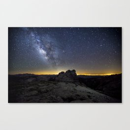 Mount Hoffman Canvas Print