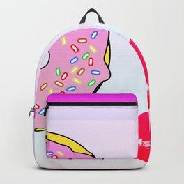 Donuts Girl Backpack