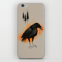 Raven from Blackforest iPhone Skin