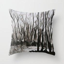 Brent skog - Gerlinde Streit Throw Pillow