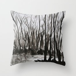 Brent skog - Gerlinde Streit Throw Pillow
