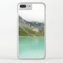 Pristine Alaska Glacier Bay National Park Clear iPhone Case