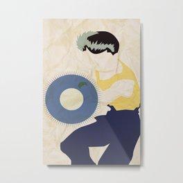 Yusuke  Metal Print