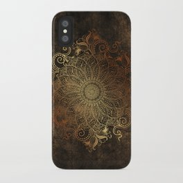 Mandala - Copper iPhone Case
