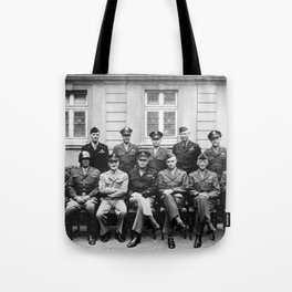 American World War 2 Generals Tote Bag