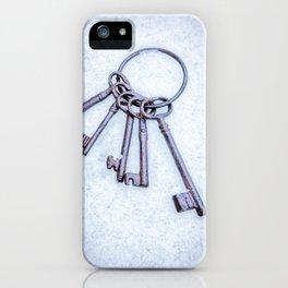 Rusty Keys iPhone Case