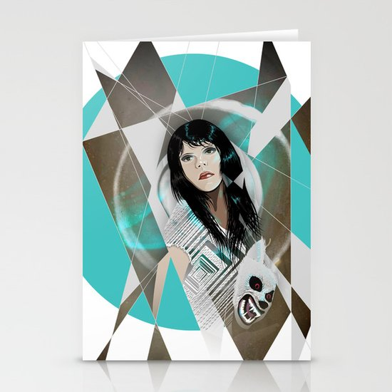 BAT FOR LASHES & The Mask Stationery Cards