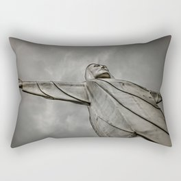 Christ of the Ozarks Rectangular Pillow