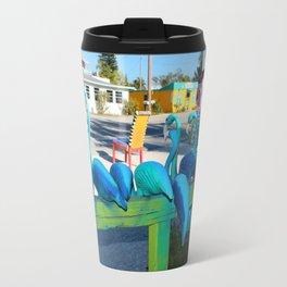 Mailing Flamingos Travel Mug