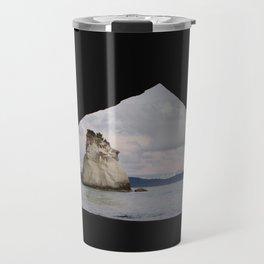 sunrise at cathedral cove Travel Mug