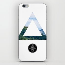 The Forest View Triangle iPhone Skin