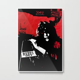 Joey R / Punk Rock Hero Metal Print
