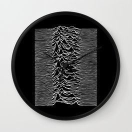 Joy Division lines Wall Clock