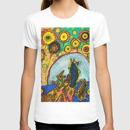 Procession (in color) T-shirt