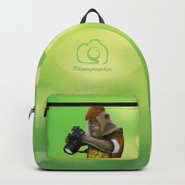 Photographer of the apes Backpack