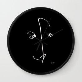 Demeter Moji d1 3-1 b Wall Clock