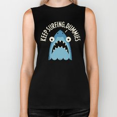 Great White Snark Biker Tank